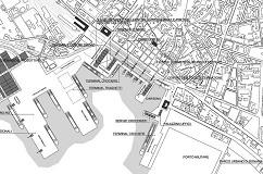 Town-planning of the port, Cagliari